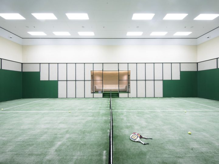 Built for a UK billionaire, 98-meter by Abeking and Rasmussen – Tennis Court